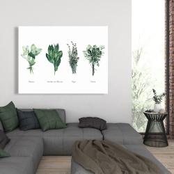 Canvas 36 x 48 - Fines herbes