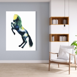 Canvas 36 x 48 - Greeting horse
