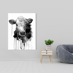 Canvas 36 x 48 - Jersey cow