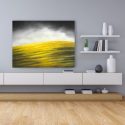 Canvas 36 x 48 - Yellow hill