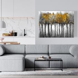 Canvas 36 x 48 - Illuminated forest