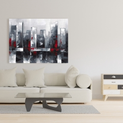 Canvas 36 x 48 - Abstract cityscape