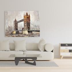 Canvas 36 x 48 - London tower bridge
