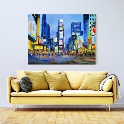 Canvas 36 x 48 - Cityscape in times square