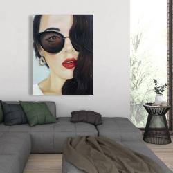Canvas 36 x 48 - Fashionable sunglasses