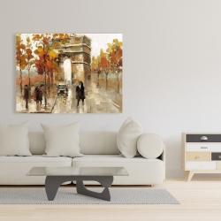 Canvas 36 x 48 - Arc de triomphe in autumn