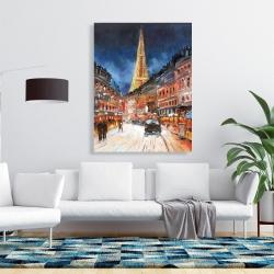 Canvas 36 x 48 - Illuminated paris