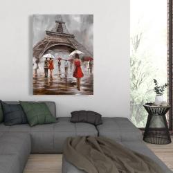 Canvas 36 x 48 - Near the eiffel tower