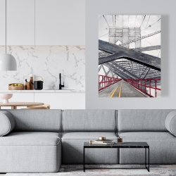 Canvas 36 x 48 - Under the brooklyn bridge