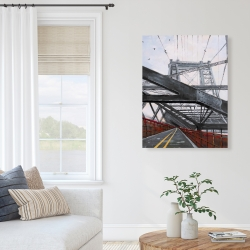 Canvas 36 x 48 - Bridge architecture