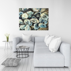 Canvas 36 x 48 - Oyster shells