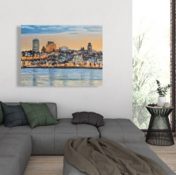 Canvas 36 x 48 - Skyline of quebec city