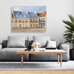 Canvas 36 x 48 - Old quebec city