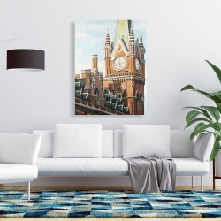 Canvas 36 x 48 - St-pancras station in london