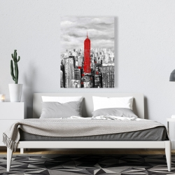 Canvas 36 x 48 - Empire state building of new york