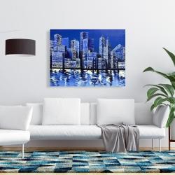 Canvas 36 x 48 - Blue skyline