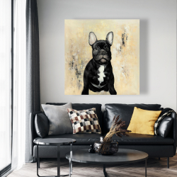 Canvas 48 x 48 - French bulldog
