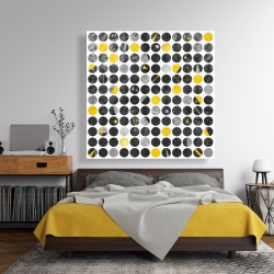 Canvas 48 x 48 - Grunge circles
