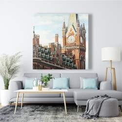 Canvas 48 x 48 - St-pancras station in london