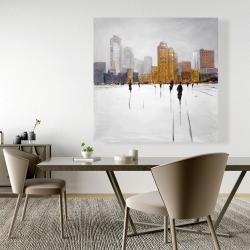 Canvas 48 x 48 - City on the horizon
