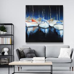Canvas 48 x 48 - Evening at the marina