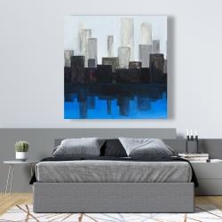 Canvas 48 x 48 - Blue city