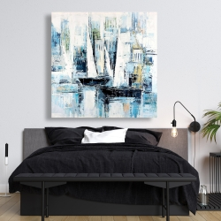 Canvas 48 x 48 - Industrial style boats