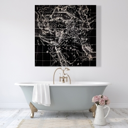 Canvas 48 x 48 - Old maritime maps