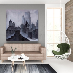 Canvas 48 x 48 - Dark city