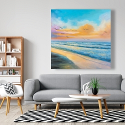 Canvas 48 x 48 - Breathtaking tropical sunset