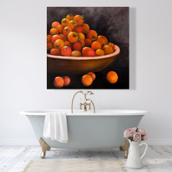 Canvas 48 x 48 - Bowl of cherry tomatoes