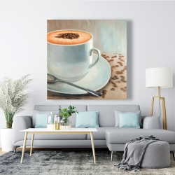 Canvas 48 x 48 - Cappuccino time