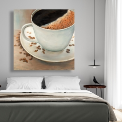 Canvas 48 x 48 - Black coffee