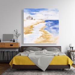 Canvas 48 x 48 - House on the beach
