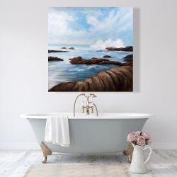 Canvas 48 x 48 - Seaside storm