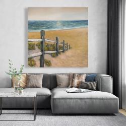 Canvas 48 x 48 - Quiet seaside