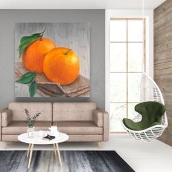 Canvas 48 x 48 - Two oranges