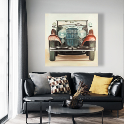 Canvas 48 x 48 - Old 1920s luxury car