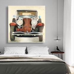 Canvas 48 x 48 - Vintage luxury car