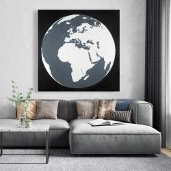 Canvas 48 x 48 - Earth