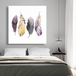 Canvas 48 x 48 - Bohemian feather set