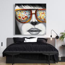 Canvas 48 x 48 - Colorful sunglasses