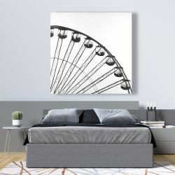 Canvas 48 x 48 - Quarter of a ferris wheel