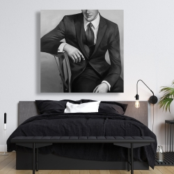 Canvas 48 x 48 - Businessman