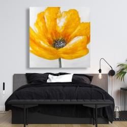 Canvas 48 x 48 - Beautiful yellow flower