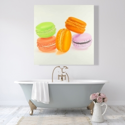Canvas 48 x 48 - Small bites of macaroons