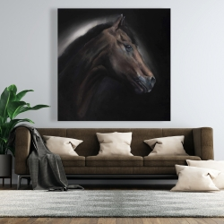 Canvas 48 x 48 - Loneliness horse