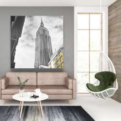 Canvas 48 x 48 - Outline of empire state building