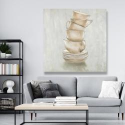 Canvas 48 x 48 - Coffee mugs