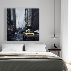 Canvas 48 x 48 - New york in the dark